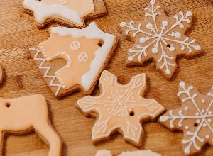Galletas de navidad caseras sin azúcar