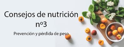 Diabetes: Consejos de nutrición nº3